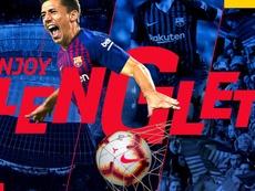 Fin al caso Lenglet. FCBarcelona