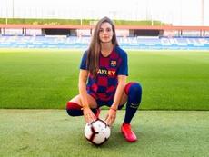 Con 17 años, destaca en las filas del Barça. FCBarcelona