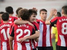 El Bilbao Athletic firma su mejor arranque en 19 años. Twitter/AthleticClub