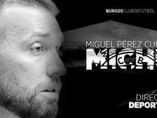El Burgos anunció a Michu en un comunicado. BurgosCF