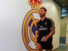 Ramos, Kroos et Bale, les premiers arrivés à l'entraînement. Twitter/RealMadridCF