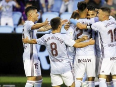 Gabriel 'Toro' Fernández marcó ante el Valencia. Twitter/RCCelta