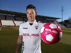 Gorosito debutó en Lugo y analizó el juego de su equipo. Twitter/AlbaceteBalompié
