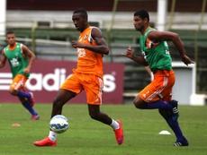 El centrocampista brasileño Gerson, en un entrenamiento del Fluminense. Fluminense