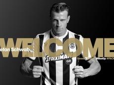 Stefan Schwab es internacional con la Selección de Austria. PAOKFC