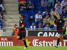 El Atlético venció en el último partido ante el Espanyol con este contexto. EFE
