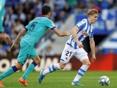 Le joueur le plus offensif de Liga devant Leo Messi. EFE