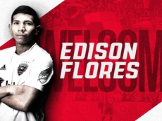 Edison Flores abandonó Morelia. Twitter/DCUnited