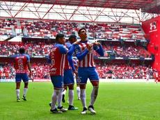 Alan Pulido fue el autor de dos de los tres goles de Chivas. Twitter/Chivas