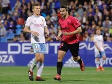 Juan Muñoz le hizo dos al Zaragoza. LaLiga