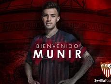Munir ha firmado un contrato hasta 2023. SevillaFC