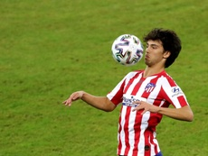 Joao Felix, nowhere to be seen. EFE