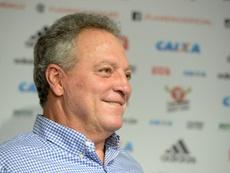 El entrenador Abel Braga durante su intervención como técnico de Flamengo. Flamengo