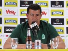 Almirón, disgustado con la Dimayor. AtleticoNacional