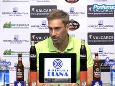 El entrenador de la Ponferradina confía en ascender. PonferradinaTV