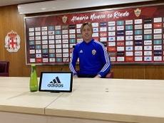 El Almería ya tiene recambios para Guti. Twutter/U_D_Almeria