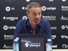 El Castellón se enfrenta al Girona. Captura/YouTube/CDCastellonOficial