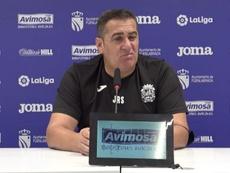 Sandoval se defendió de las críticas por ser rácano. Captura/CFFuenlabrada