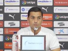 Francisco valoró muy positivamente el triunfo del Girona. Captura/YouTube/GironaFC