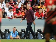 Tiago Nunes no quiere oír propuestas de otros equipos. Twitter/AthleticoPR