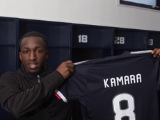 Glen Kamara, nuevo jugador del Dundee. GlenKamara