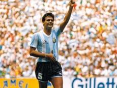 El 'Tata' Brown ganó el Mundial del 86'.