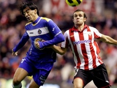 Koikili jugó en el Athletic entre 2007 y 2012. EFE