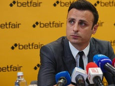 Berbatov spoke out about United's current situation. Betfair