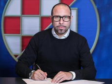 L'ancien joueur du Real Madrid, Jovicevic, nouvel entraîneur du Dinamo Zagreb. GNKDinamo