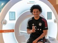 Bayern havia anunciado a chegada de Sané um dia antes. FCBayern