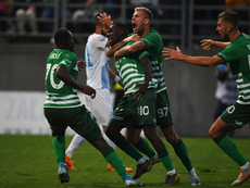 El Ferencvaros sufrió para ganar en la Liga Húngara. Fradi_HU