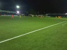 El fútbol volvió a jugarse de noche en Somalia después de 30 años. Twitter/HarunMaruf