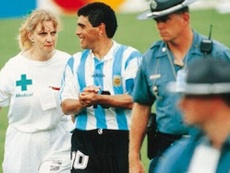 Galíndez falou sobre o positivo de Maradona. EFE