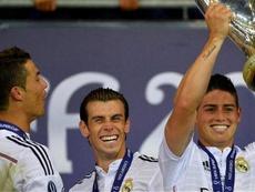 Bale (c) y James (d) han conseguido grandes cosas en el Madrid. EFE