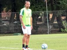 Osvaldo se quedó a las puertas de tener un regreso de diez. Twitter/CABanfield