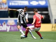 Cancelo dans le viseur de Pep Guardiola. Twitter/JuventusFC