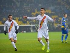 Pellegrini selló el destino del Parma con sus dos goles. ASRoma