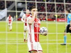 L'Ajax se rapproche encore plus du titre. Twitter/AFCAjax
