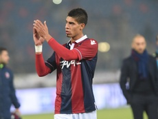 The defender has completed a medical at Watford. Bologna FC