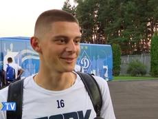 El Dinamo de Kiev debuta en Champions ante la Juventus. Captura/YouTube/FCDinamoKyiv