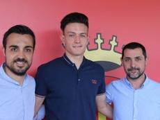 Sergi Álamo jugará en el Peralada para poder disfrutar de minutos. GironaFC