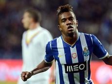 Kelvin não conseguiu brilhar no Porto. FCPorto