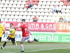 El Murcia remontó al Don Benito. Twitter/realmurciacfsad/artemio_rmu