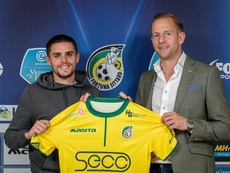 George Cox has moved on loan to Dutch side Fortuna Sittard. Twitter/FortunaSittard