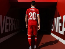 Diogo Jota ya es 'red'. LiverpoolFC