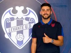 Rafa González defenderá los colores del filial 'granota'. LevanteUD