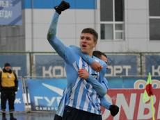 Aleksandr Sobolev es pretendido por varios clubes de la Premier. KC-Camapa