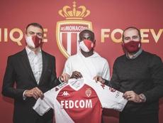 Krépin Diatta jugará hasta 2025 en el Mónaco. ASMonaco