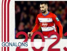 El Granada renovó su confianza en Gonalons. GranadaCF