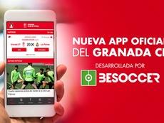 La APP oficial del Granada ya es una realidad. BeSoccer